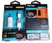 Вид 2 - Зарядное устройство Parmp Micro Auto Charger + Lightning Cable (2.1 mAh) White