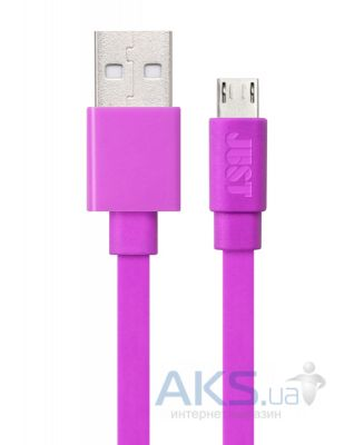 Кабель USB JUST Freedom Micro USB Cable Pink (MCR-FRDM-PNK)