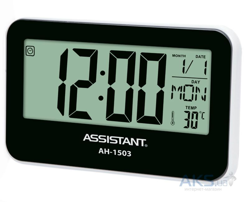 Часы Assistant AH-1503 Black