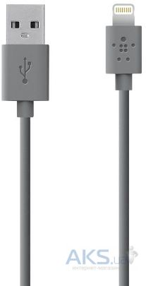 Кабель USB Belkin Lightning to USB ChargeSync Cable for iPhone 1.2m HC Silver (F8J023bt04-RDhc)
