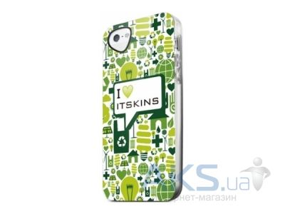 Чехол ITSkins Phantom cover case for iPhone 5/5S I love iTSkins (APH5-PHANT-GREN)