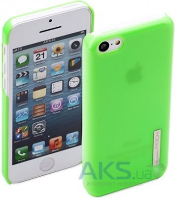 Чехол Rock Ethereal Series Apple iPhone 5C Green (iPhone 5C-51953)