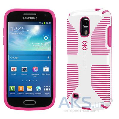Чехол Speck for Samsung i9190 Galaxy S4 mini CandyShell Grip White/Raspberry Pink (SPK-A2159)