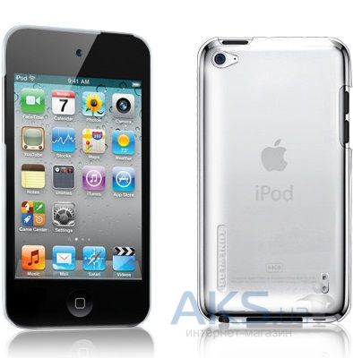 Чехoл Tunewear Eggshell Clear for iPod touch 4G