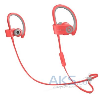 Наушники (гарнитура) Beats PowerBEATS 2 Wireless Sport Pink (MKPT2ZM/A)
