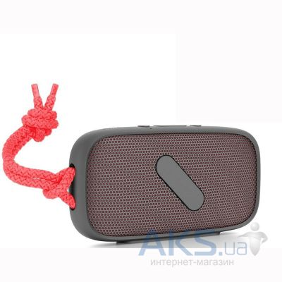 Колонки акустические Nude Audio Portable Bluetooth Speaker Super M Coral (PS039CLG)