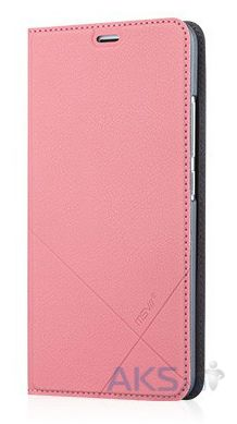 Чехол MSVII Leather Stand Series Meizu M3 Note Pink Gold