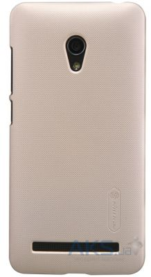 Чехол Nillkin Super Frosted Shield Asus Zenfone 5 Lite A502CG Gold