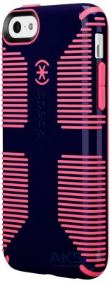 Чехол Speck CandyShell Grip Case for iPhone 5C Berry Black Purple/Bubblegum Pink Core 2 Packaging (SPK-A2426)