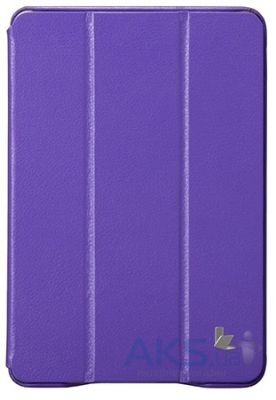 Чехол для планшета JisonCase Executive Smart Case for iPad mini/mini 2 Purple (JS-IDM-01H50)