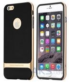 Чехол Rock Royce Series Apple iPhone 5, iPhone 5S, iPhone 5SE Black - Gold