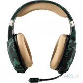 Гарнитура для компьютера Trust GXT 322C Gaming Headset Green Camouflage