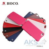 Вид 3 - Чехол Hoco Duke flip leather case for iPhone 5C Black (HI-L039)