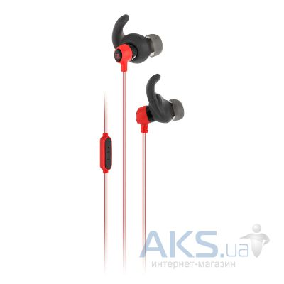 Наушники (гарнитура) JBL In-Ear Headphone Reflect Mini Red (JBLREFMINIRED)