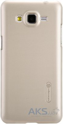 Чехол Nillkin Super Frosted Shield Samsung G530/Grand Prime Gold
