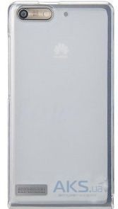 Чехол Original Silicon Case для Huawei Y530 White