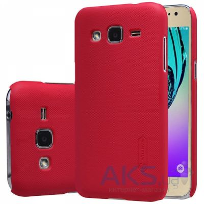 Чехол Nillkin Super Frosted Shield Samsung J200 Galaxy J2 Red