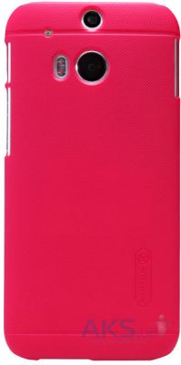 Чехол Nillkin Super Frosted Shield HTC One M8 Red