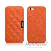Чехол iCarer Classic Check Apple iPhone 5, iPhone 5S, iPhone SE Orange