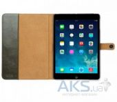 Вид 3 - Чехол для планшета Zenus iPad Air Leather Case 'Masstige' Lettering Diary Series Deep Khaki