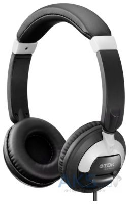 Наушники (гарнитура) TDK ST260s ON-EAR HEADPHONES SMARTPHONE CONTROL Black