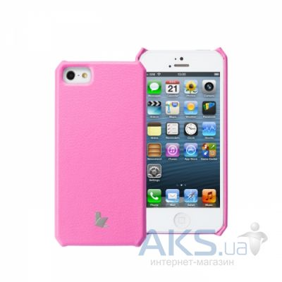 Чехол JisonCase Fashion Wallet Case for iPhone 5/5S Rose (JS-IP5-01H33)