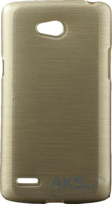Чехол Original TPU Pearl Lines LG Optimus L80 D380 Gold
