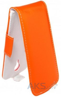Чехол Sirius Flip case for Lenovo S668t Orange