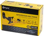 Кронштейн для телевизора X-digital SA125 Black