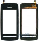 Сенсор (тачскрин) для Nokia 600 with frame Original Black