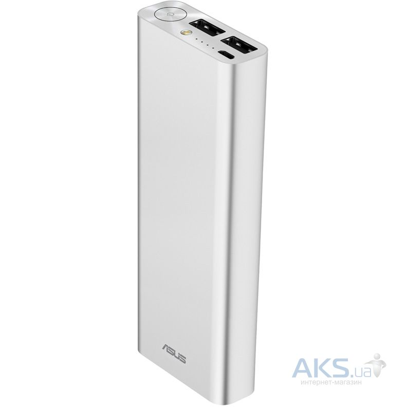 Повербанк power bank Asus ZEN POWER 20000 Silver (90AC00M0-BBT020)