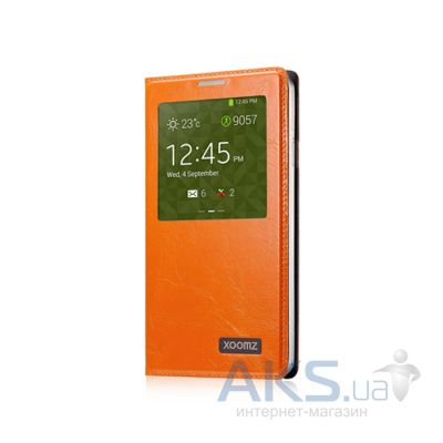 Чехол Xoomz Original Oil Wax Leather для Samsung Galaxy Note 3 Orange