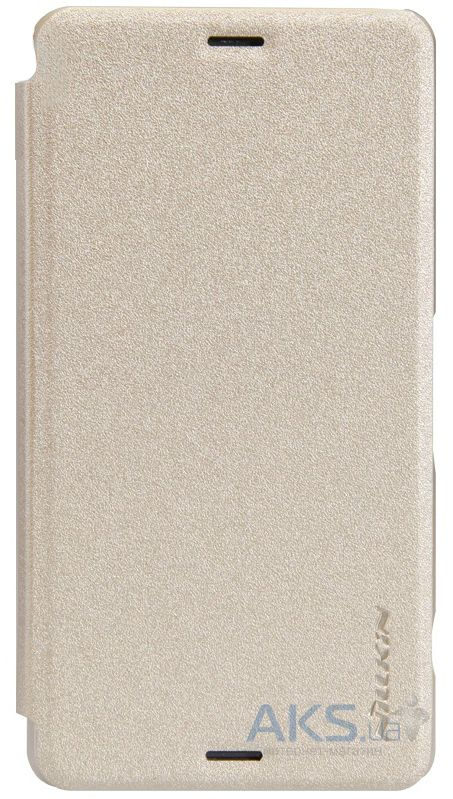 Чехол Nillkin Sparkle Leather Series Sony Xperia Z3 Compact D5803 Gold