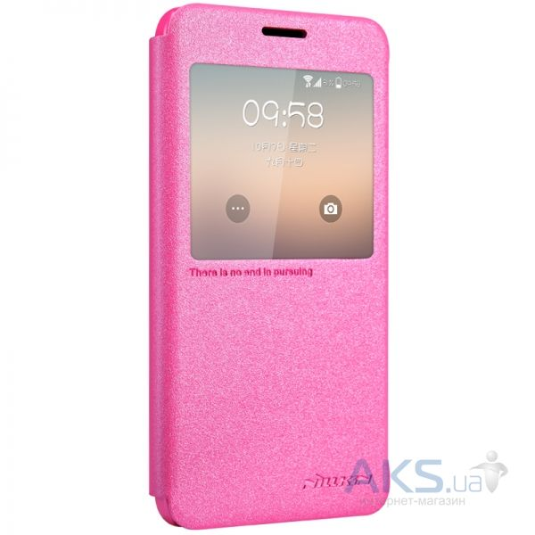 Чехол Nillkin Sparkle Leather Series Samsung G930 Galaxy S7 Pink
