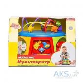 Вид 7 - Игрушка KiddielandPreschool Игровой центр МУЛЬТИЦЕНТР (свет,озвуч.рус.яз.) (g051193)