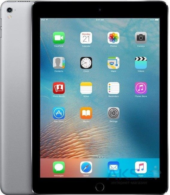 Планшет Apple iPad Pro 9.7 Wi-FI 4G 128GB  (MLQ32) Space Gray