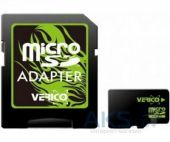 Карта памяти Verico 128GB MicroSDHC Class 10 + SD Adapter (VFE3-128G-V1E)
