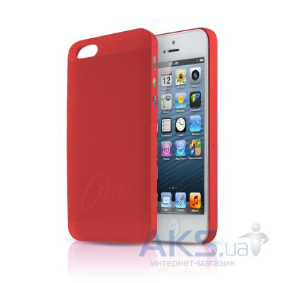 Чехол ITSkins Zero.3 cover case for iPhone 5 Red (APH5 ZERO3 REDD)