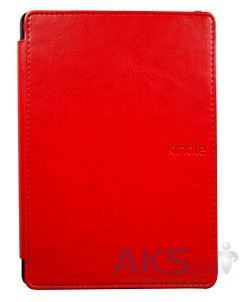 Обложка (чехол) Amazon Kindle 4/5 Leather Cover Red
