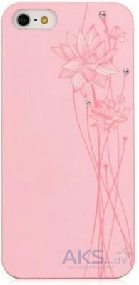 Чехол Bling My Thing Lotus Colour Apple iPhone 5, iPhone 5S, iPhone SE Pink with White (BMT-AI5-LT-PK-CAB)
