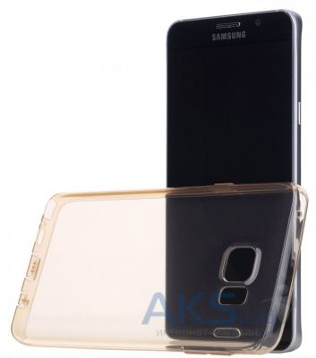 Чехол Rock Ultra Thin Slim Jacket Samsung N920 Galaxy Note 5 Gold