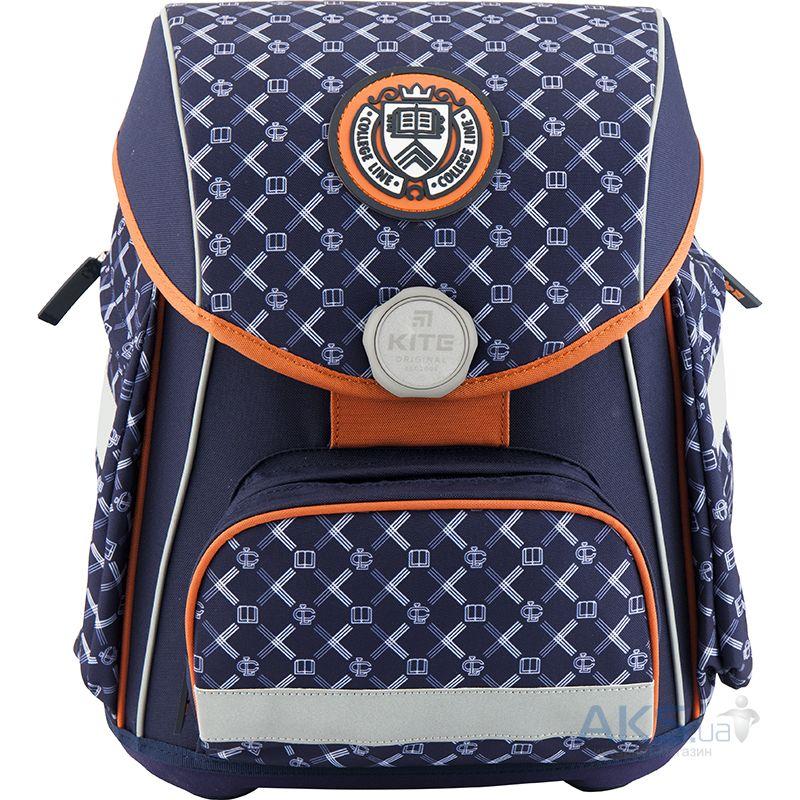 Рюкзак школьный каркасный Kite K18-580S-1 Синий