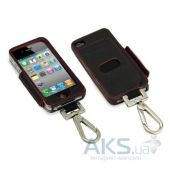 Чехол Tunewear Prie Ambassador Black/Red for iPhone 4