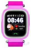 Детские умные часы (с GPS) Smart Baby Q100 (Q90) GPS-Tracking, Wifi Watch (Pink)
