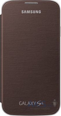 Чехол Samsung Flip Cover I9500 Galaxy S4 Brown (EF-FI950BAEGWW)