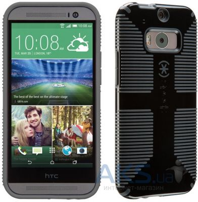 Чехол Speck CandyShell Grip case HTC One M8 Black/Slate (SP-SPK-A2760-S)