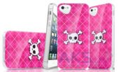 Вид 2 - Чехол ITSkins Phantom cover case for iPhone 5/5S (Pink Skull) (APH5-PHANT-PINK)