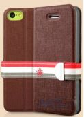 Чехол Yoobao Fashion Protecting case for iPhone 5C Brown (PCI5C-FBR)