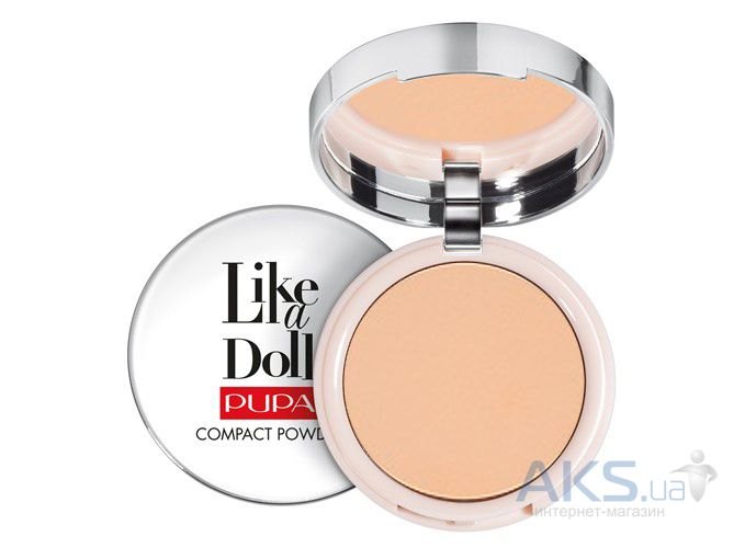 Пудра Pupa Like A Doll Compact Powder №04 Warm Beige