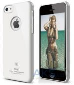 Чехол Elago Slim Fit Case For iPhone 5С White